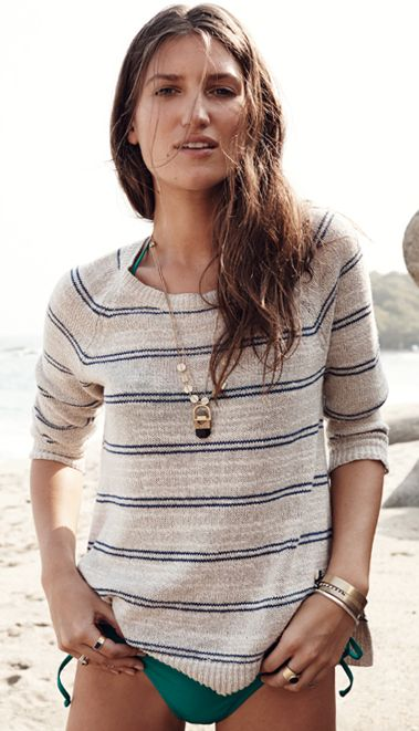 Madewell Cabinstripe Sweater