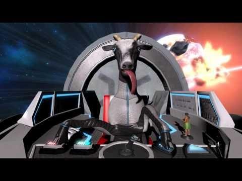 Goat Simulator отправляется в космос с дополнением Goat Simulator's Waste of Space | VGblogs.ru