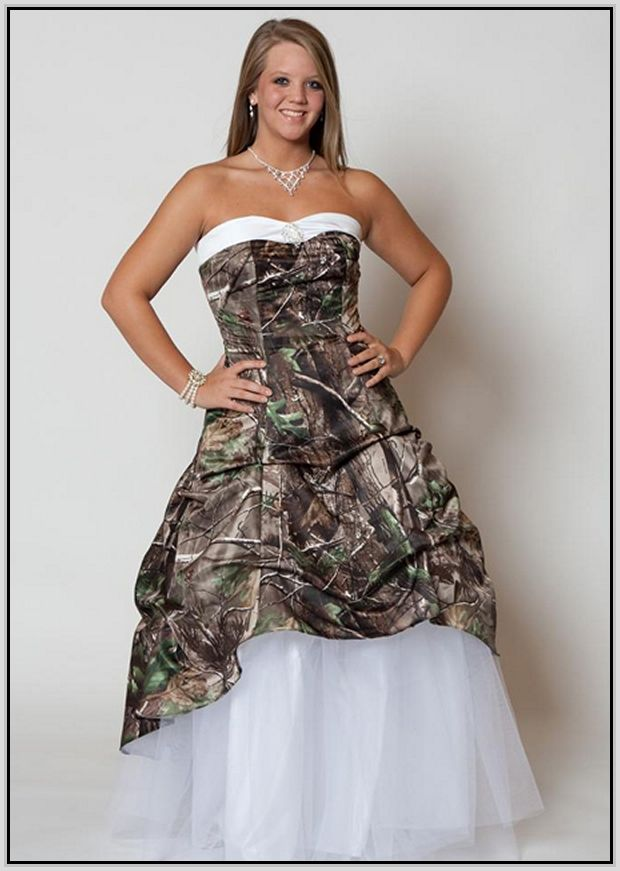 12 Best Camo Wedding Dresses Images On Pinterest Short Wedding