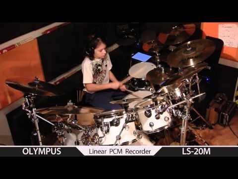 Dave Weckl Rhythm Dance - drum cover by Igor Falecki (11 y old), you tube