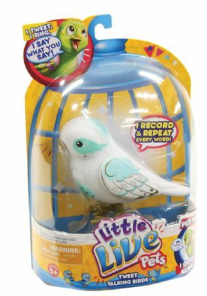 Little Live Pets Tweet Talking Birds Angelic Angela. Mr Toys Toyworld Online offers toys under $10 and the best range of Toys, Games and LEGO.
