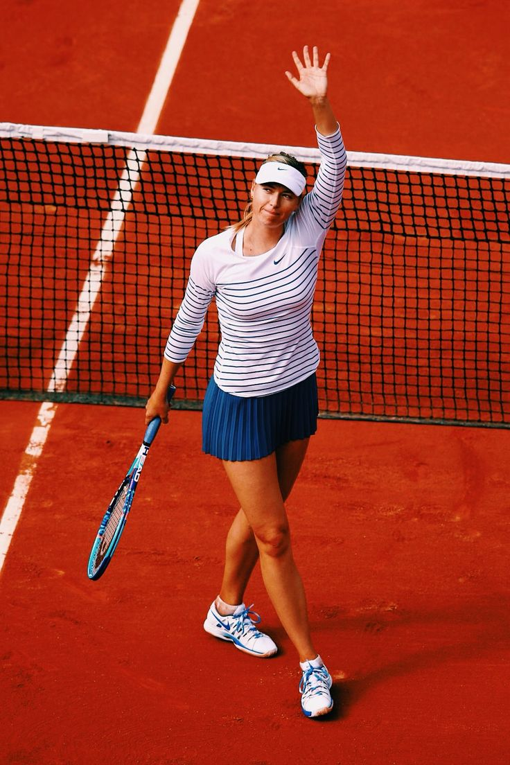 Maria Sharapova  - 2015 French Open (Nike)