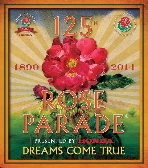 125th Rose Parade, Pasadena, CA: 125Th Rose, Rose Parade, Pasadena Rose, Oriental Logos, Rose Bowls, Dreams, Flowers Parade, Flowers Oriental