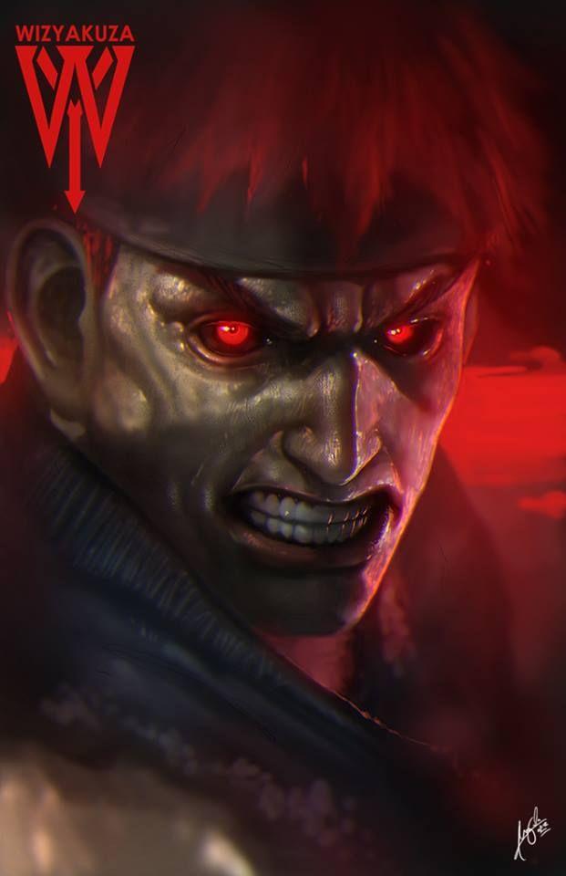 Evil Ryu by mr. Shoryuken