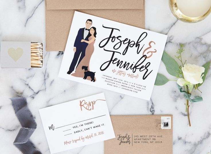 INVITATIONS + CALLIGRAPHY | Miss Design Berry Inc. | Available Online