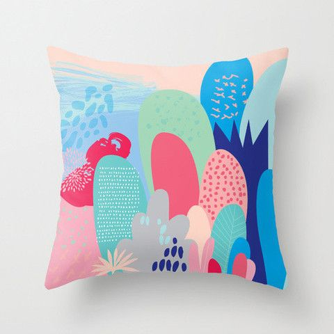 Cloud Nine Creative - Pink Magical Forest Cushion
