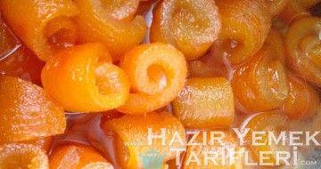 turunç reçeli tarifi