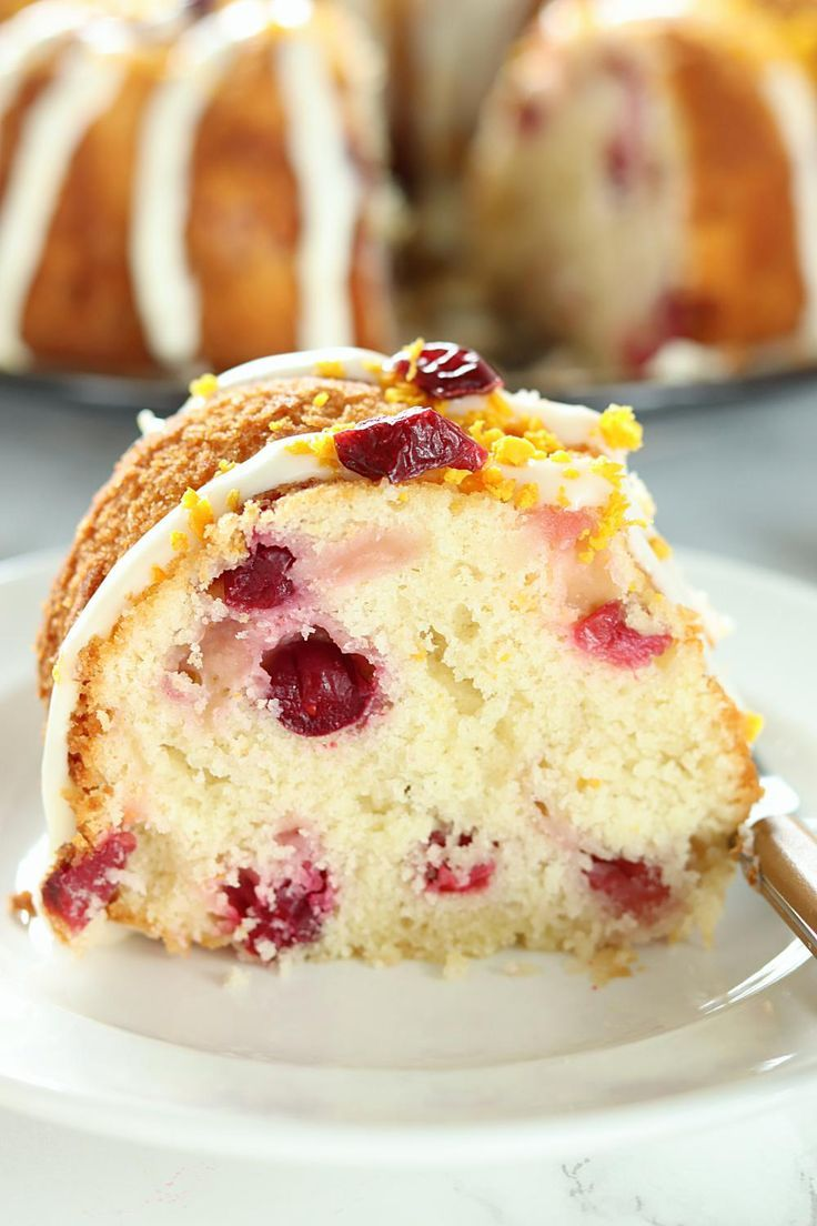 One bite of this White Chocolate Orange Cranberry Cake will make you realize how wonderful it is to celebrate the holiday season with delicious desserts.