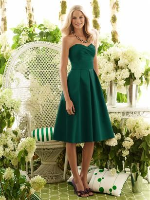 Dessy After Six Bridesmaid Style 6553, Hunter