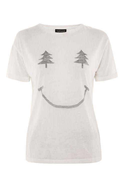 Christmas Smiley T-Shirt