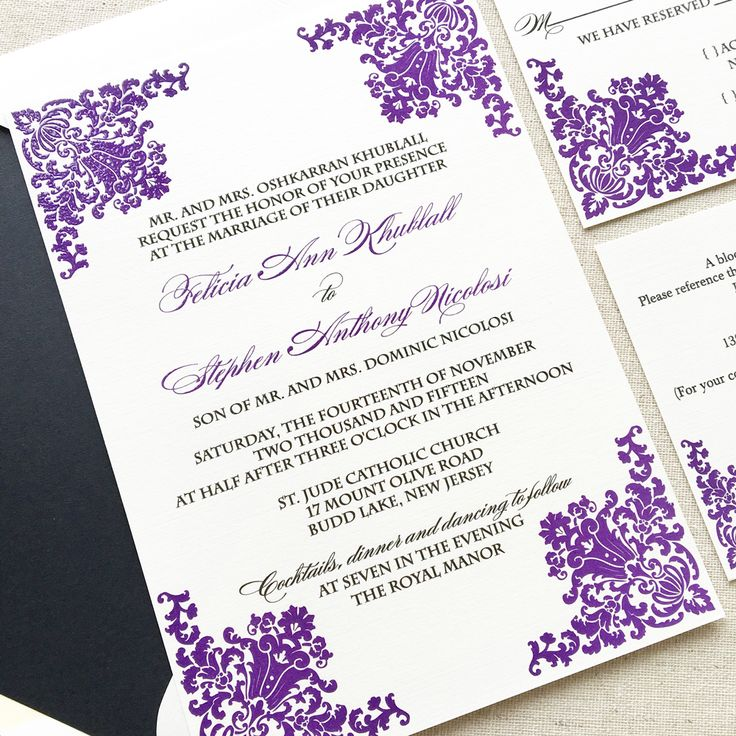 not on the high street winter wedding invitations%0A Fairytale Wedding Invitation