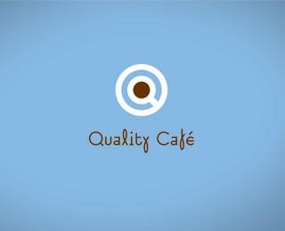 Quality Cafe logo by László Sándor (via Creattica)