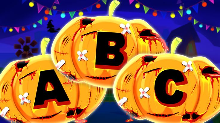 abc song   alphabets rhyme   Halloween videos for kids