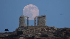 Fase Bulan Terhubung Pada Gempa Bumi Besar