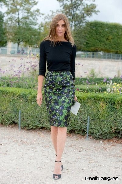 You really can't go wrong with a pencil skirt