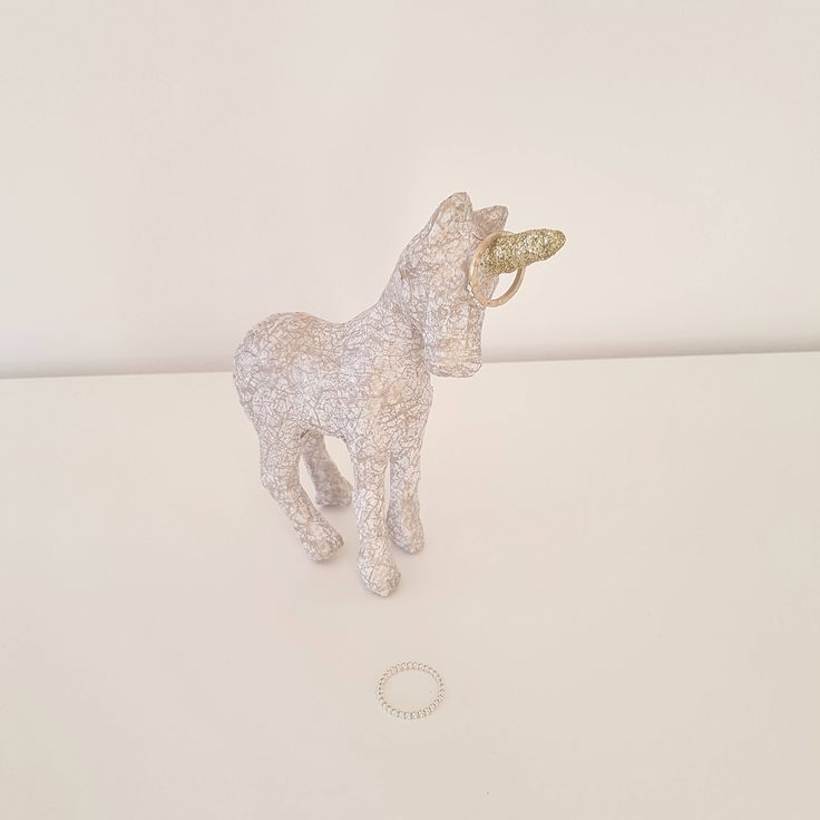 Unicorn Jewellery Holder, Ring Holder, Unicorn Ornament, Jewellery Collection Holder, Small Home Decor, Gift for her, Unicorn lover, Glitter by BlushedCreationsXOXO on Etsy