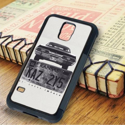 Kansas Supernatural Plate Samsung Galaxy S5 Case