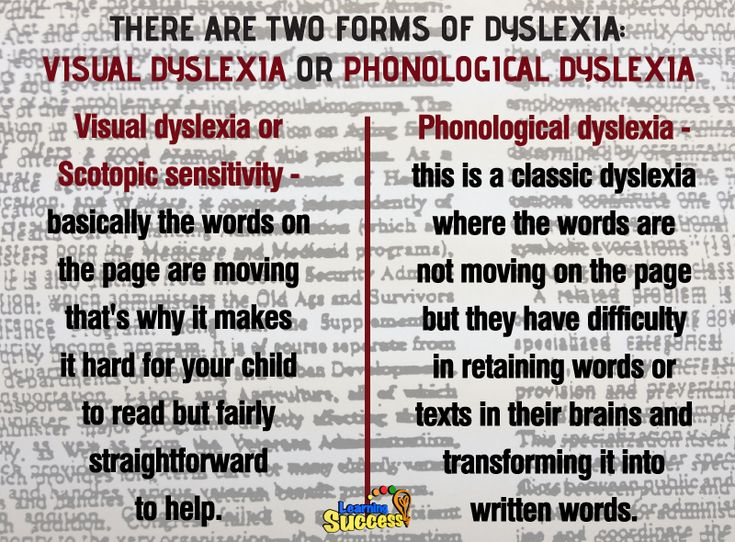 The Two Types of Dyslexia: There are two types of dyslexia, and here are ways to detect them. #parenting