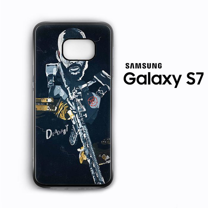 Deadshot Wallpaper for Samsung Galaxy S3/S4/S5/S6/S6 Edge/S6 Edge Plus/S7 Phonecases