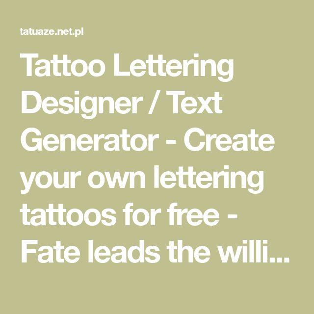 Tattoo Ideas Generator
