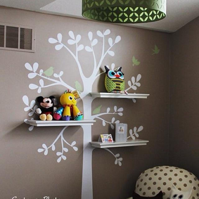 Most do-able diy tree bookshelf