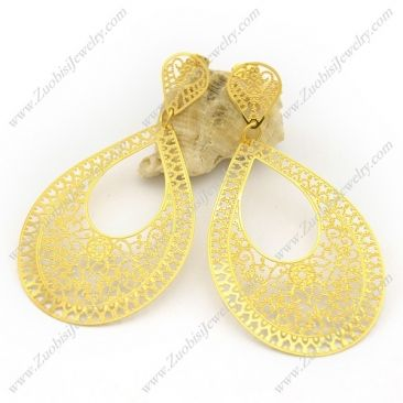 plating earings - e001045  Sales Price : US$ 2.12  Click on the image to buy online with a wholesale amount.