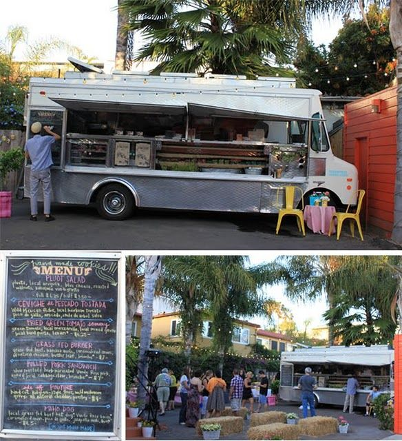 Food Truck Mobile Wedding Reception Catering