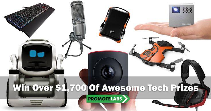 Grab a Gadget Goody Bag: https://perk3.com?ref=1226 $1,700 of AWESOME Tech Gear (Cameras, Drones, Projectors) Ends 7/31st!