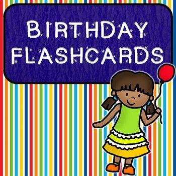 Celebrate students' birthdays and learn about students' ages with these fun birthday cards! These cards include all the vocabulary needed to talk about birthday parties, birthday traditions, and how to give one's age! Put the fun birthday candles together to combine to create any age--making it great for any age range of kids learning birthday vocabulary!  #birthday #flashcards #esl #specialeducation #language