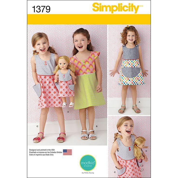71 besten Girl\'s Sewing Patterns To Love Bilder auf Pinterest ...