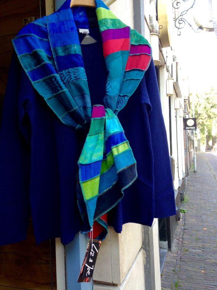 Silk kleur en wol