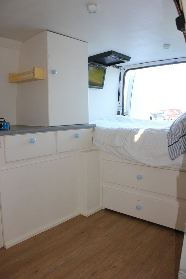 Converted Ford Transit CAMPERVAN Surf camper van conversion