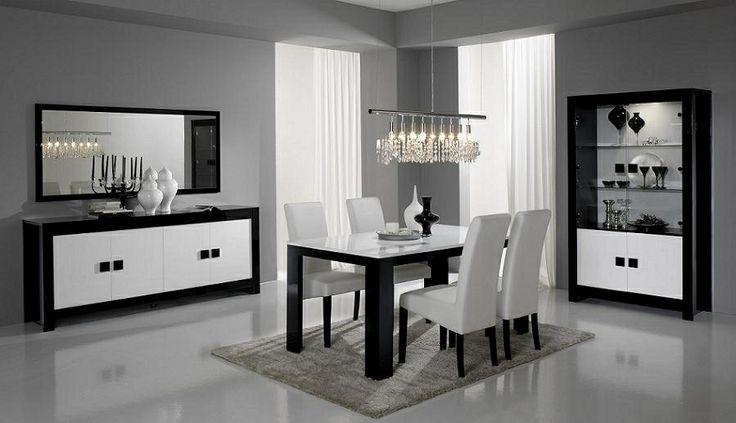 Complete woonkamer set. Model Pisano in de kleur zwart/wit ook in lever/wit. Is ook verkrijgbaar in  White oak.