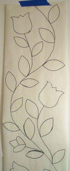 Resultado de imagen para tulipan mexicano bordado
