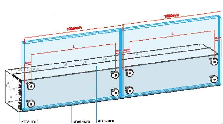 external glass balustrading balcony system tech. Black Bedroom Furniture Sets. Home Design Ideas