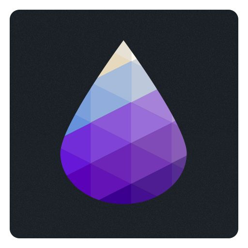 【 A Drop 】 App launcher icon - My work