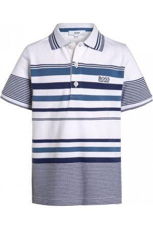 Niño Camisetas,Tops y Polos - HUGO BOSS Polo blanc/bleu
