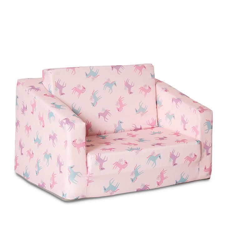 Kids Flip Out Sofa Multi Unicorn By Adairs Kids Kids Sofa