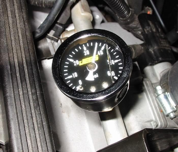 Permanent Fuel Rail Pressure Gauge - Jeep Cherokee Forum