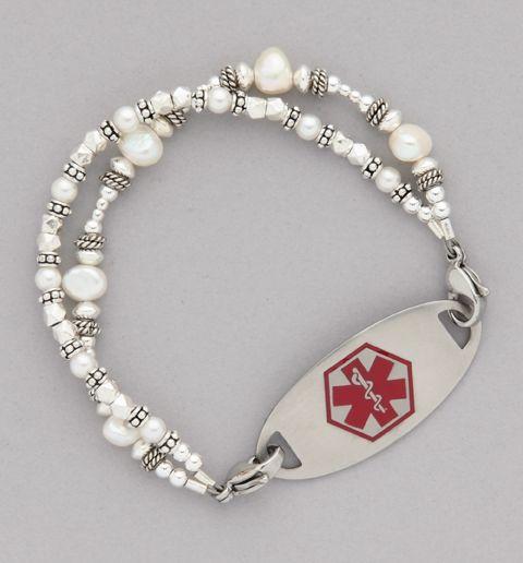 Silver Mine Medical Id Bracelet Medical Bracelets And