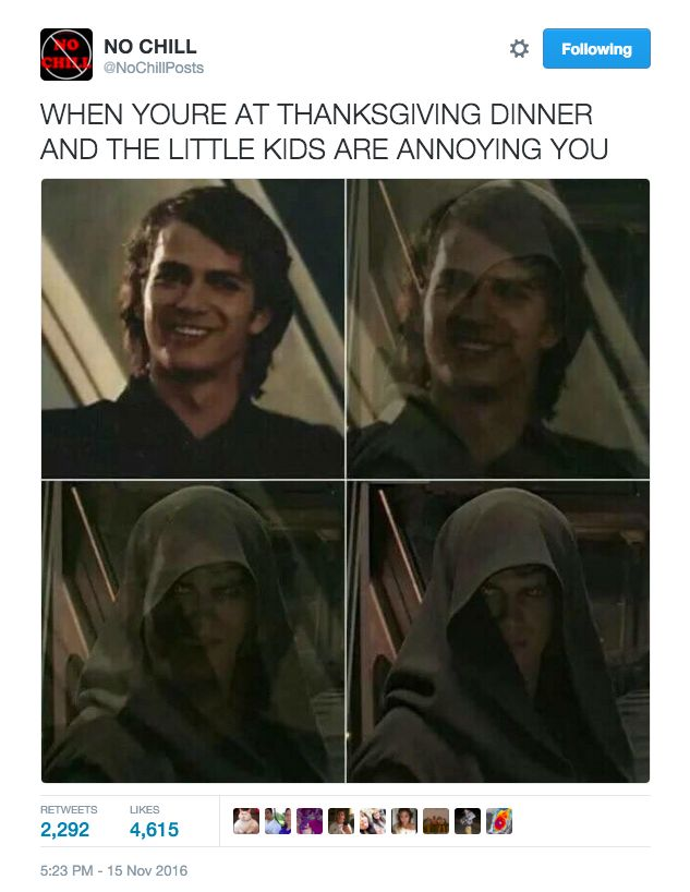 Relationship status: Parents just asked me if anyone will be joining me for Thanksgiving, then started laughing before I could answer.