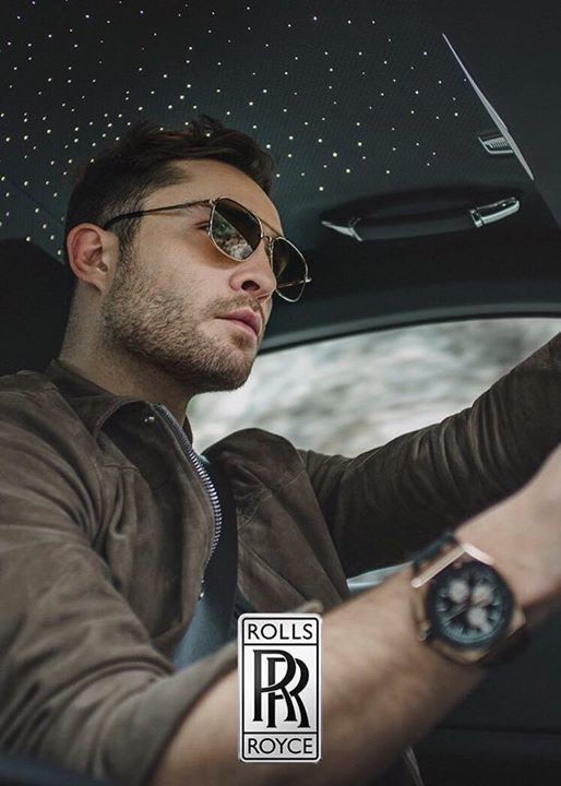 Ed Westwick for Rolls Royce