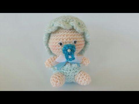 Bebè Amigurumi Tutorial Uncinetto - Muñeca Crochet (Eng Sub) - YouTube