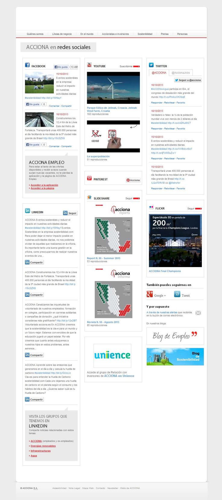 ACCIONA Redes Sociales   Tanta Agencia digital