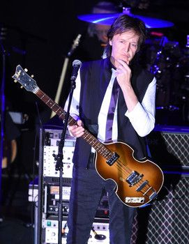 Paul McCartney performs at Irving Plaza in New York City on Feb. 14, 2015.