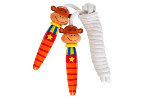 Mike The Monkey Skipping Rope - Cadeaux.ie