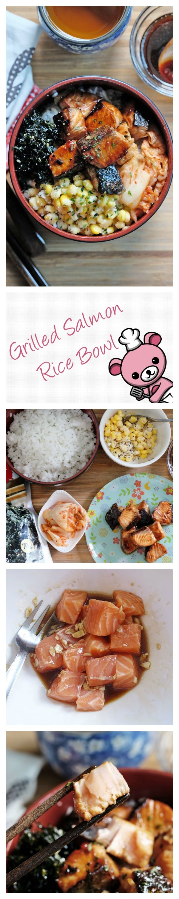 Combining The Very Best In Both Japanese And Korean Flavors, This Exquisite  Grilled Salmon Rice