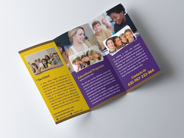37 best Brochure images on Pinterest Brochures, Colleges and Lyrics - school brochure template