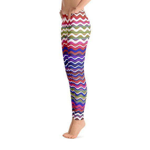 37414c564708e WAVES Women Leggings Yoga Pants Women Yoga Leggings Work