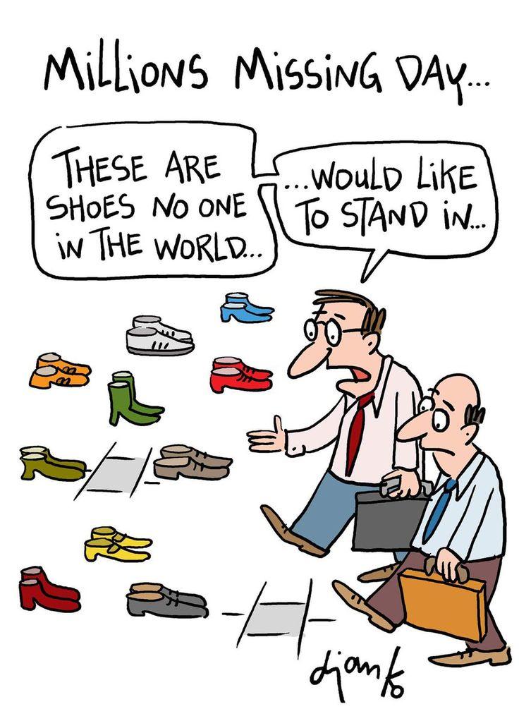 Empty shoes are being used to symbolise the millions with #Myalgic Encephalomyelitis missing from their lives.  #Millionsmissing #MyalgicE